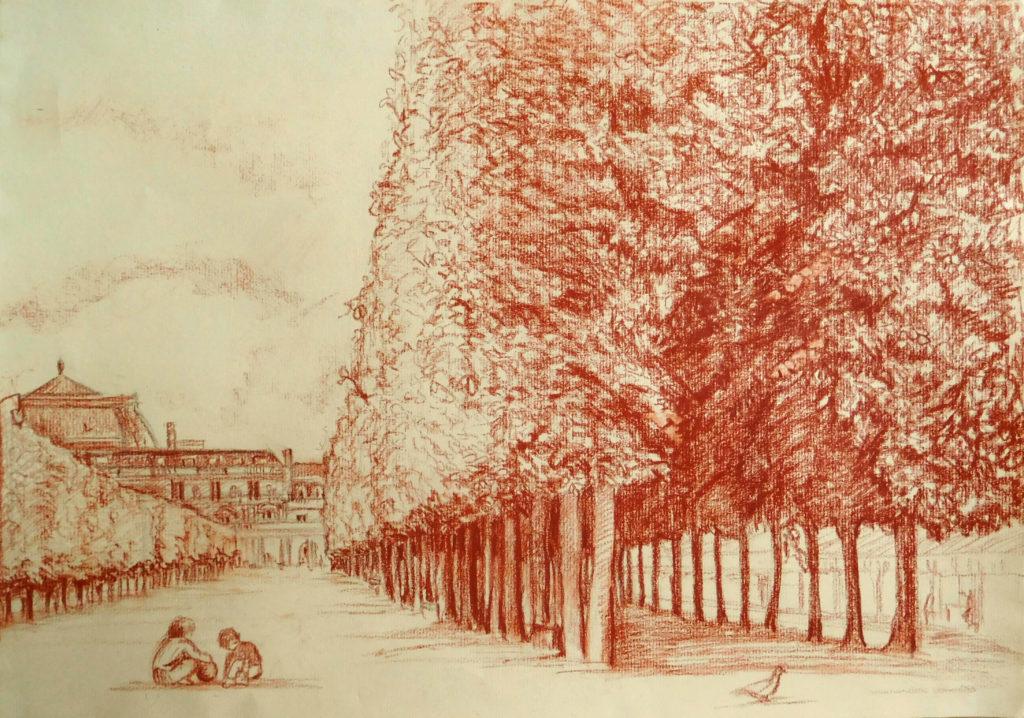 Palais Royal 30x40