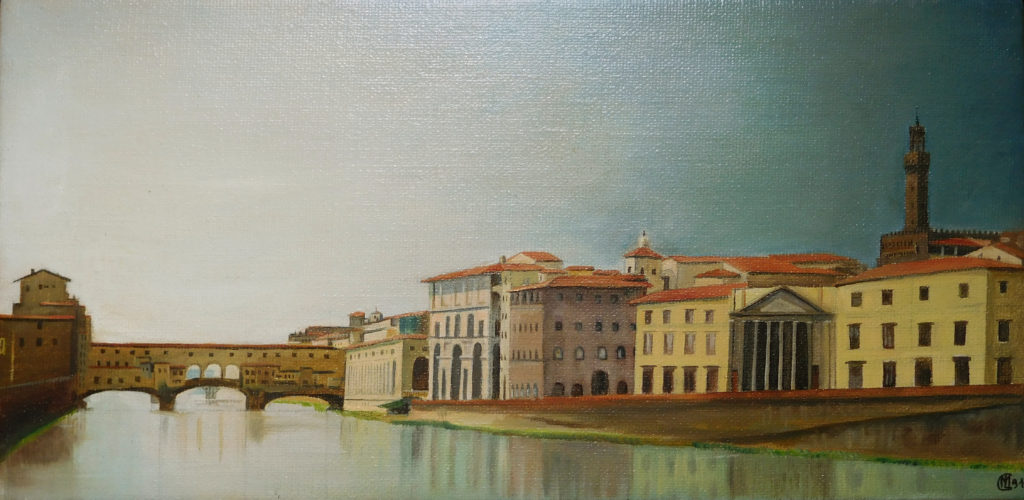 Ponte Vecchio 50x25