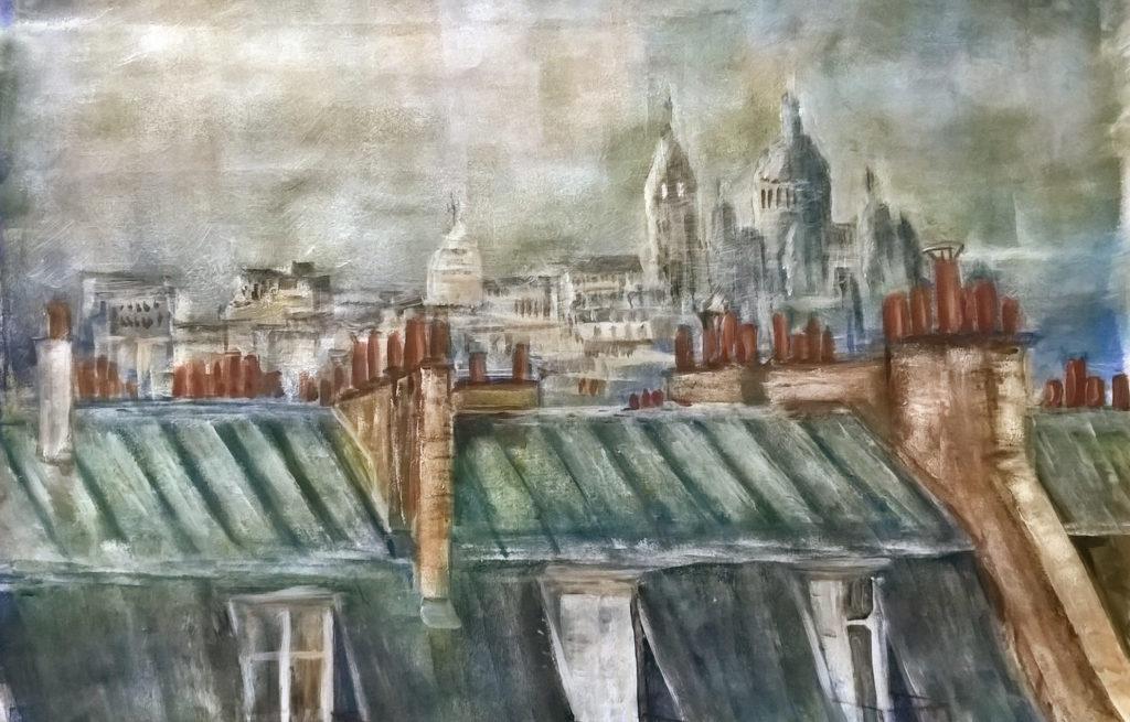 Toits de Paris 65x45