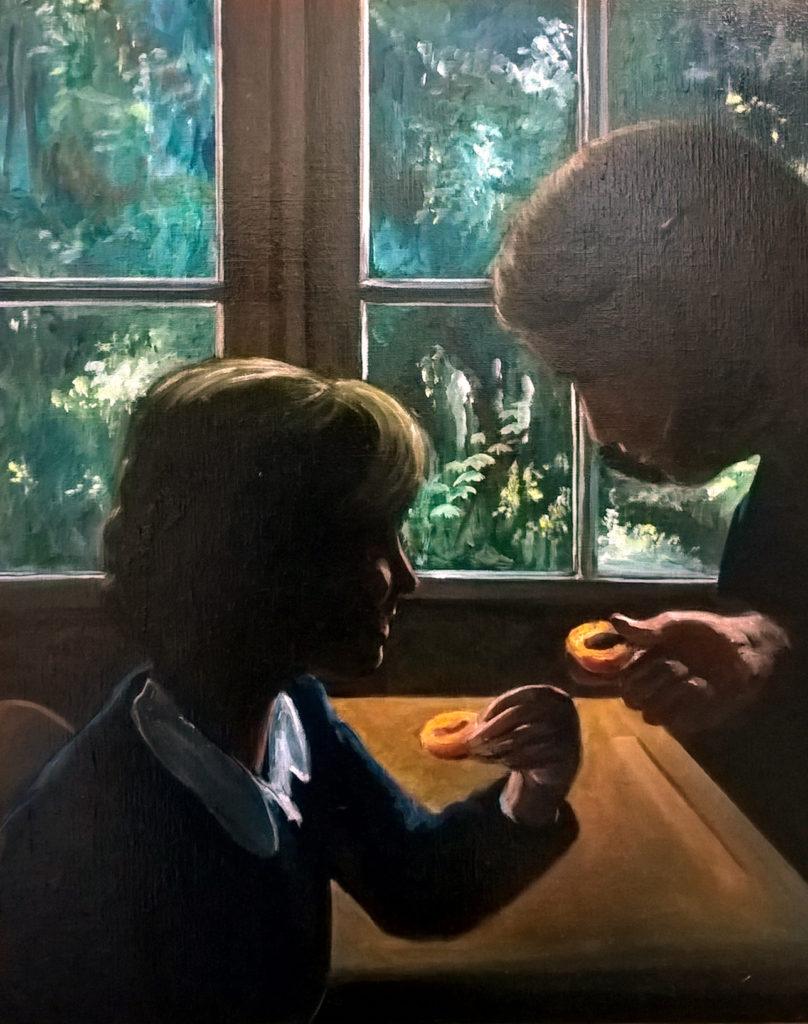 """""""En partageant un abricot"""""""